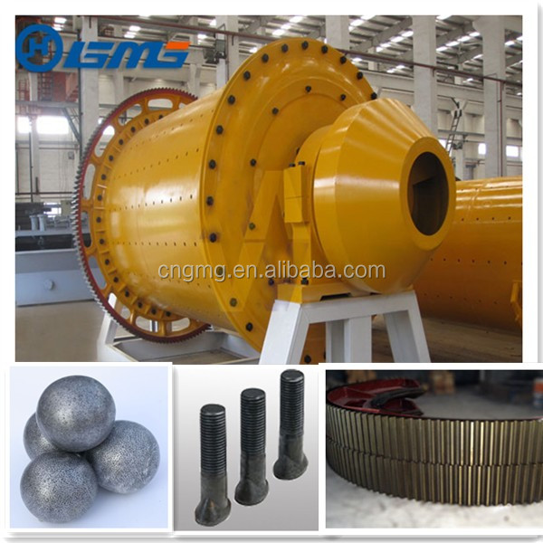 3.2x45M 50-56t/h Lattice Type Ceramic Ball Mill Grinding Used In Mineral Processing