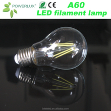 New A60/A19 8W Filament Led Light Bulb of China Maufacturer Lamp Factory Price