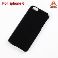 "Top 3 supplier blank black color for iphone 6 case 4.7"" PC high quality ultra think PC cell phone case"
