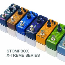 Xtreme Pure Analog True bypass electronic guitar effects pedals/overdrive/distortions/flanger/delay/phaser/compressor/Chorus