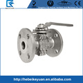 Stainless Steel 304/316 2PC Shut Off Valve -Flanged Ends