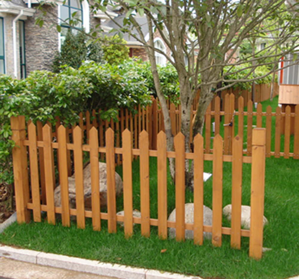 Heat Treated Outdoor Porch Wood Fencing