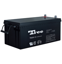 Deep rechargeable 12V 200AH replacement battery for apc