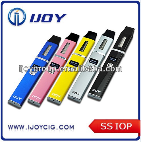 2014 newest design LSK beginning Electronic cigarette with OLED screen IJOY SS-ITOP