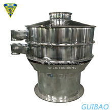 Industrial sugar pollen sand rotary sifter