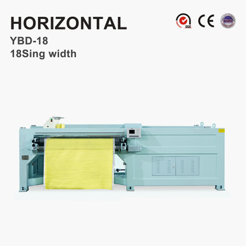 YBD18 intelligent Horizontal Quilting Embroidery Machine(single width)