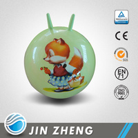 Novelty Jumping Ball with Handle Exercise Ball OEM