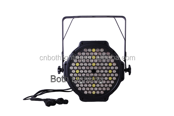 Hot cheap High Power 120*3W RGBWA LED Aluminum PAR64 dj bar event light