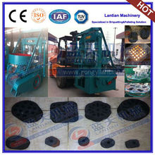 Coal charcoal honeycomb briquette machine