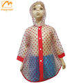 Raincoats Type Transparent Plastic Custom Printed Rain Poncho