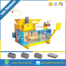Qmy6-25 Cement Hollow Block Making Machine Egg Layer Sale In Ethiopia