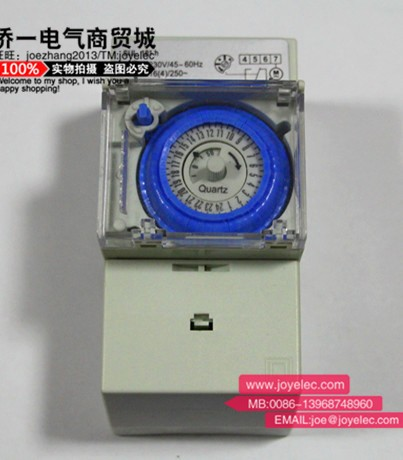 SUL181H Timer Switch With Battery Mechanical Programable Time Switch Manual Timer