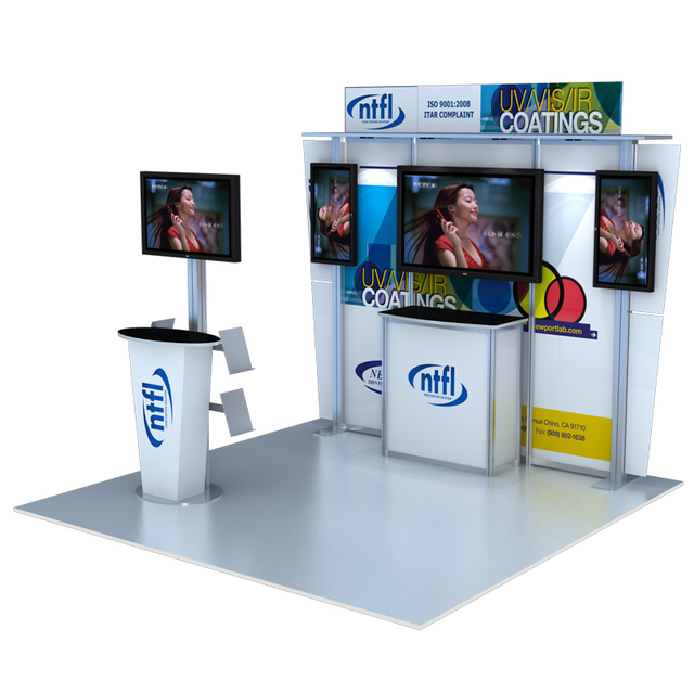 Aluminium 10x10 China Exhibition Booth Design
