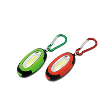 promotional mini pocket light led 3W COB keychain flashlight with magnet