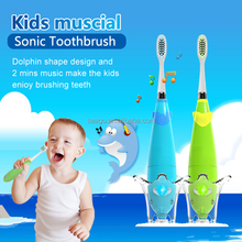 Kids Music Sonic electric Toothbrush with flashing Light SG921