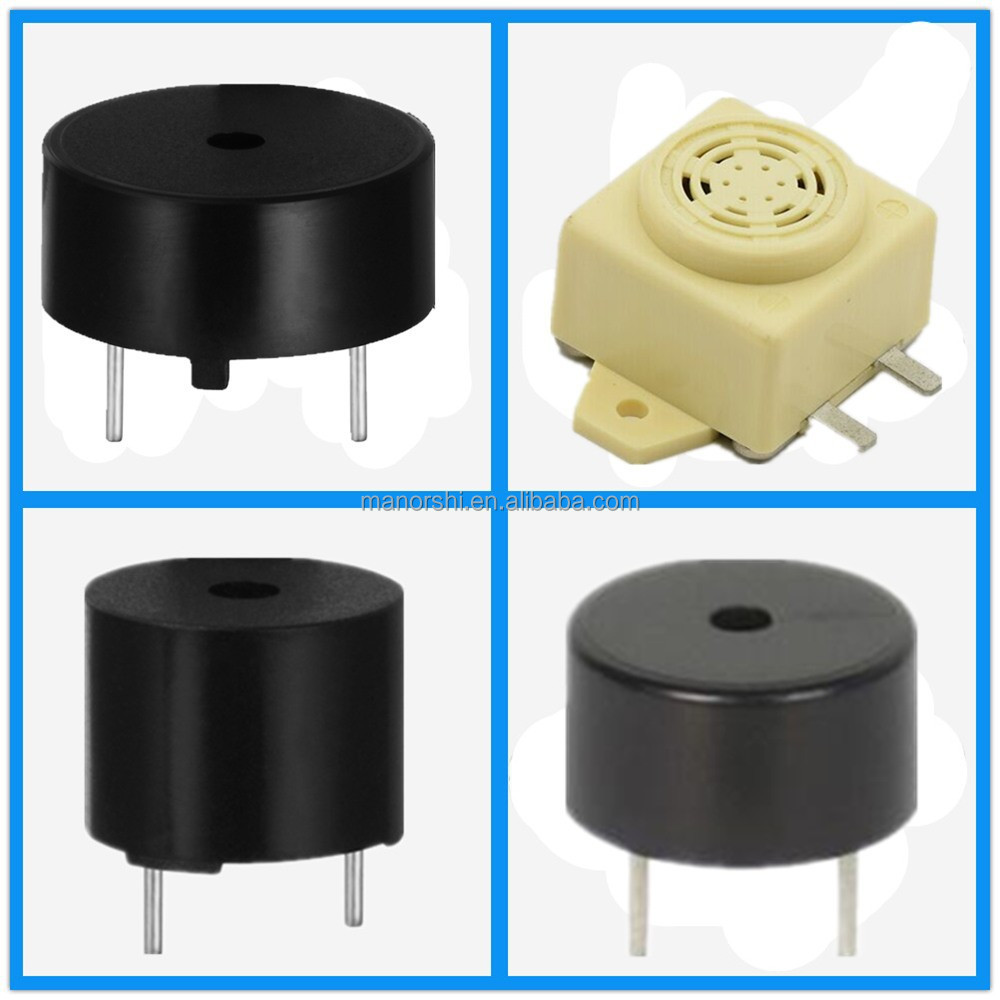 9mm Magnetic Buzzer Piezo Buzzer Pin Type