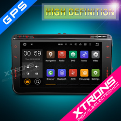 "XTRONS PF84MTVA 8"" android car radio for Volkswagen with OBD WIFI 3G GPS Bluetooth"