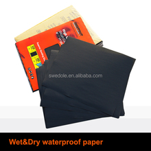 silicon carbide waterproof abrasive sand paper