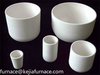 Refractory Alumina industrial ceramic crucible used for melting gold,platinum,steel,glass,iron manufacturing in china