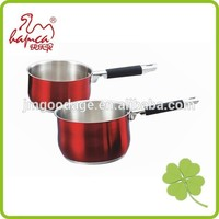 Colorful Induction Cookware Stainless Steel Milk Pot, Saupan cooking pot