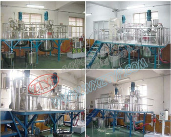 500 Gallon Paint factory mixing machine complete Production Line