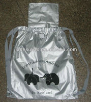 shoes non woven drawstring bag