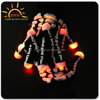 2016 Light Up LED flashing gloves magic finger gloves