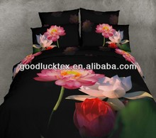 3d designs microfiber brushed polyester fabric