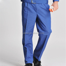 100% Cotton Blue Fire Proof Workwear Trousers