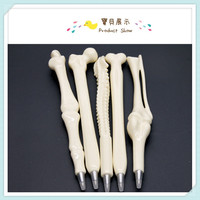 Syringe Pen Writing Supplies Bone shape ballpoint pens New creative gift school supply DHL Free Shipping