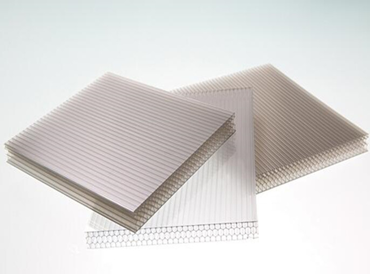 XINHAI Polycarbonate Honeycomb Hollow Sheet in danpalon daylighting