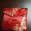 Mini velvet pouch with zipper/zipper jewelry pouch bag