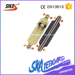 New design blank wood skateboard