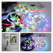 perfect led strip! best price 5050 addressable led strip rgb led strip 12v 24v 2812 IC-inner with many color