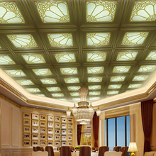 Top sale transparent pvc ceiling designs for bedroom
