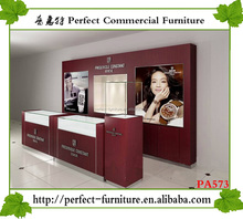 high quality shopping mall jewelry display kiosk used jewelry display cases