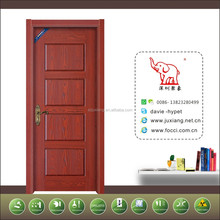 China biggest supplier and top selling eco new design teak wood door models