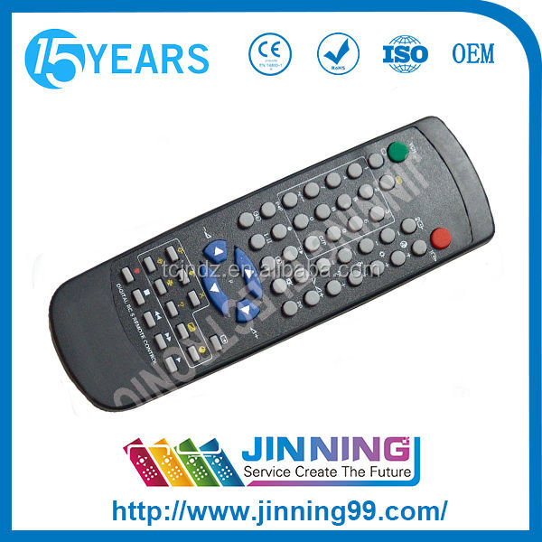 home automation touch screen TV remote control RC5 DIGITAL