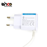 ZHCO Factory Wholesale 2A 5V Quick Charger 2 Port Multi Dual USB For Mobile Adapter Wall Charger