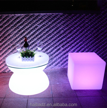 high lounge chair wholesale wireless battery powered led decoration light for wedding centerpieces