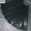 Black plastic tree planting bag for plants cultivation