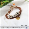 hot selling plastic hook bracelet/ alloy bracelet