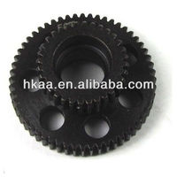 motorcycle aluminum steel 56T spur gear,customized engine reverse gear