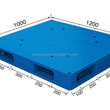 Plastic Pallet 1200x1000 Returns With Steel Tube