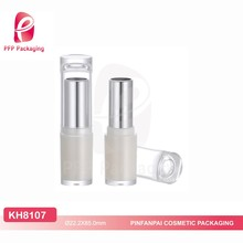 Custom hot sale popular design clear cap lipstick cosmetic packaging tube