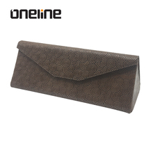 Unique Folding Sunglasses Case Popular Triangle Foldable Glasses Case