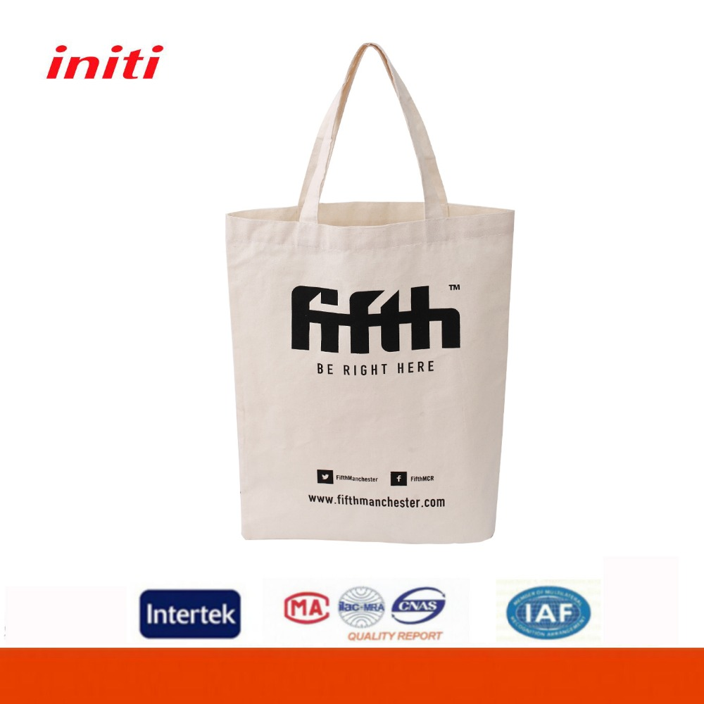 School Grocery Shopping Art Swag Bags Tote Foldable Cotton Bag