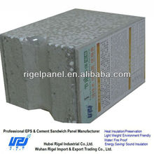 Hot Sale Fast Construction Waterproofing EPS Cement Sandwich Panel For Family House
