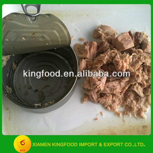 Best Canned bonito tuna in vegetable oil from China