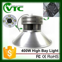 IP44 400W led highbay / low bay lighting fixture with CE ROHS 3 years warranty